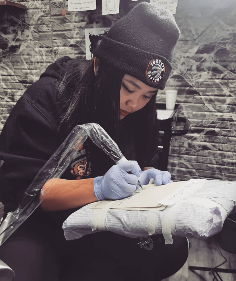 Jenn Tattoo Apprentice